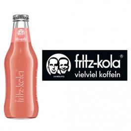 Fritz Bio Rhabarbersaft Schorle 24x0,2l Kasten Glas