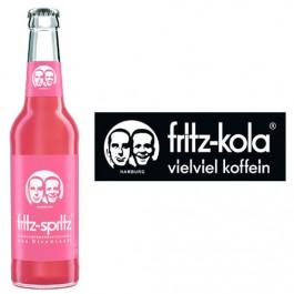 Fritz Bio Rhabarberschorle 24x0,33l Kasten Glas