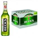 Beck's Green Lemon 24x0,33l Kasten Glas